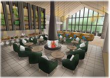 2020年夏に自然融合の宿泊施設 自家製野菜レストランも アートビオトープ那須